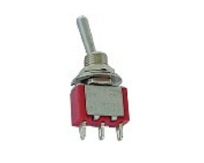 5a Spdt On Off On Miniature Hq Toggle Switch Solder